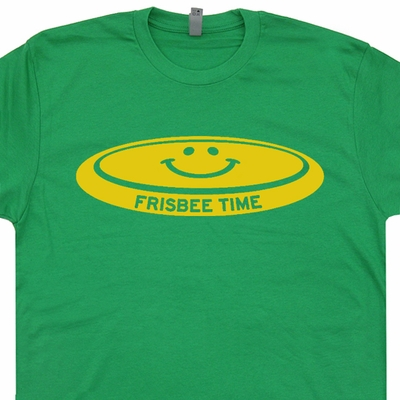 Frisbee T Shirts Ultimate Frisbee T Shirt Disk Golf T Shirt Vintage T Shirt