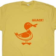 Duck Quack T Shirt Funny Animal Shirt Cute Duck Shirt Funny T Shirt