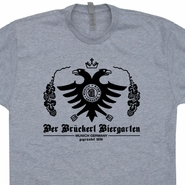 German Bier Beer T Shirt Vintage Germany Soccer Becks Beer Tee Shirts
