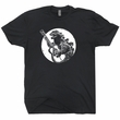 Godzilla Guitar T Shirt Playing Fender Guitar Shirt Cool Vintage Guitar Shirts