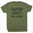 Cool Motorcycle T Shirt Saying Good Day Harley Davidson Triumph Shirt