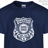 Grammar Police T Shirt Funny youth Shirts Cute Kids Shirts