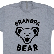 Grandpa Bear T Shirt Grandfather Shirts Best Grandad Ever T Shirt