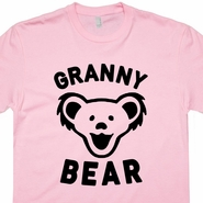 Granny Bear T Shirt Grandmother Shirts Best Grandma Ever T Shirt