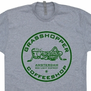 Grasshopper Marijuana T Shirt Amsterdam T Shirt Grateful Dead Phish Shirts