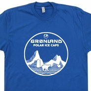 Greenland T Shirt Polar Ice Caps Shirt Polar Bear Graphic Global Warming
