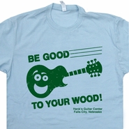Guitar Center T Shirt Be Good To Your Wood Shirt Fender Guitar Shirt
