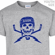 Hockey Youth T Shirts Kids Hockey T Shirts Vintage Hockey Goon Shirt