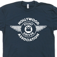 Hollywood Stunt Driver T Shirt Vintage Hollywood T Shirt 80s Movie Tee