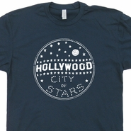 Hollywood T Shirt California Shirts Vintage Hollywood Sign Tee Cool 80s Movie Shirts Los Angeles T Shirt