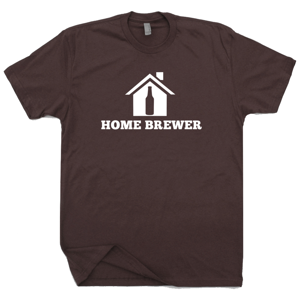 Home brewer t shirts homebrewing beer t shirts craft for Craft brewery t shirts