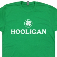 Irish Hooligan T Shirt Hooligan Shirt Irish Beer Shirts Ireland Soccer Shirt