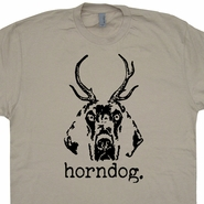Horndog T Shirt Funny T Shirt Offensive T Shirt Funny Animal Shirt Saying
