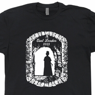 Jack The Ripper T Shirt London England T Shirt Cult Horror Movie T Shirts