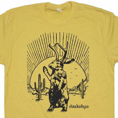 Jackalope Shirt Mythical Creature Shirt Chupacabra Cryptozoology Shirt