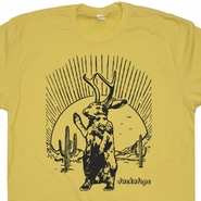 Jackalope T Shirt Mythical Animal T Shirt Funny Animal Shirt Jackalope