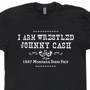 Johnny Cash T Shirt Outlaw Country Music Shirt Vintage Country Music
