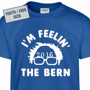 Kids Youth Bernie Sanders T Shirt Feel The Bern T Shirt
