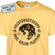 Kids / Youth Duck Billed Platypus T Shirt
