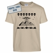 Kids Youth Pyramid T Shirt Youth UFO T Shirt Space Invaders T Shirt