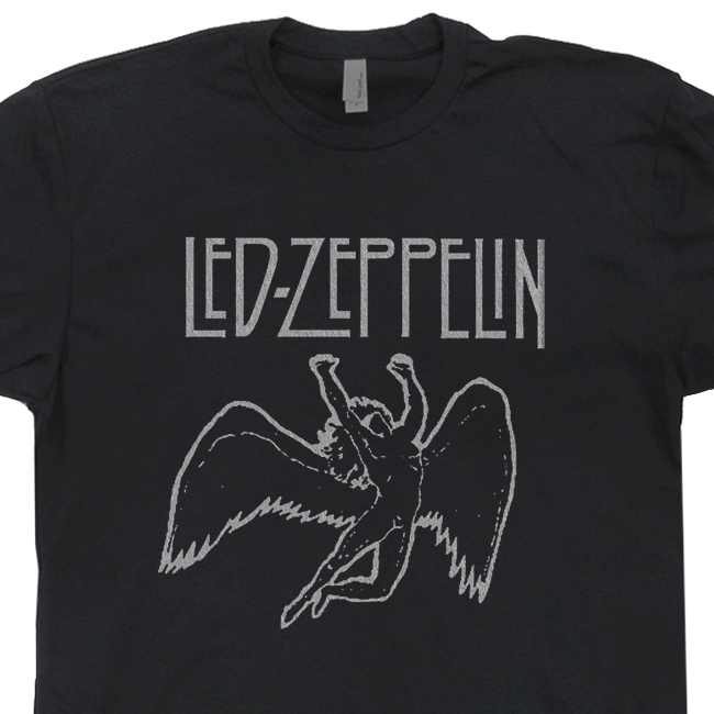 Led Zeppelin T Shirt | Vintage Rock Shirt | Cool Band T Shirts