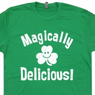 Magically Delicious Shirt Lucky Charms T Shirt Saint Patricks Day Shirt