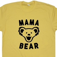 Mama Bear T Shirt Mama Bear Shirt Grateful Dead Shirt Dancing Bears