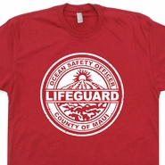 Maui T Shirt Hawaii Lifeguard T Shirt Vintage Surfing T Shirt Surf Hawaii