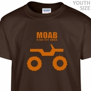 Moab Utah Jeep T Shirt Funny Kids Shirts Cool Youth Shirts