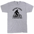 Mountain Bike T Shirt Bigfoot Stole My Mountain Bike Bigfoot Riding Bicycle Tee Mountain Biking Shirt