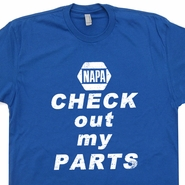 Napa Auto Parts T Shirt Vintage Nascar T Shirt Car Auto Mechanic Shirt