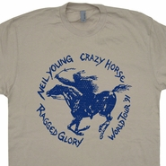 Neil Young T Shirt Vintage Neil Young Shirt Ragged Glory Tour Shirt