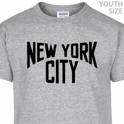 New York City T Shirt Funny Youth T Shirt Cool Kids Shirts