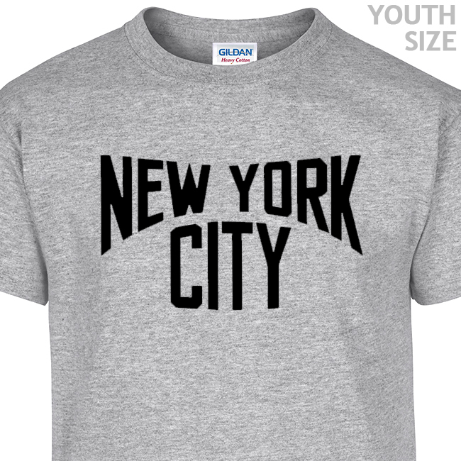 da494b224 New York City Vintage T Shirt | Funny Youth T Shirt | Cool Kids Shirts