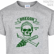 Oregon Lumberjack T Shirt Hipster Youth Shirts Funny Kids Shirts