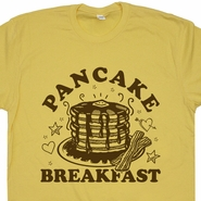 Pancake Breakfast T Shirt Waffle House Shirts Bacon and Eggs Shirts