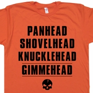 Knucklehead Gimmehead Shirts Vintage Harley Davidson T Shirts Funny Offensive Biker Tees