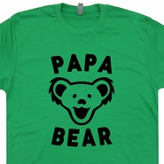 Papa Bear T Shirt Papa Bear Shirt Grateful Dead Shirt Dancing Bears