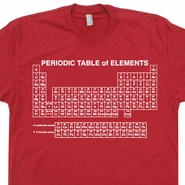 Periodic Table T Shirt Of Elements Geek Tees