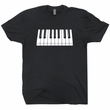 Piano T Shirt Moog Keyboard Shirt Beethoven Shirt Mozart Tee Shirt
