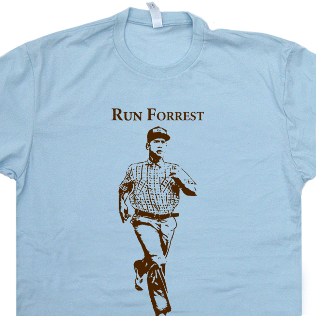 026e8c704f8 Run Forrest Gump T Shirt Funny Running T Shirts Ironman Triathlon Shirt