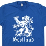 Scotland T Shirt Scottish T Shirt Scottish Flag Scotland Soccer Rugby Shirt