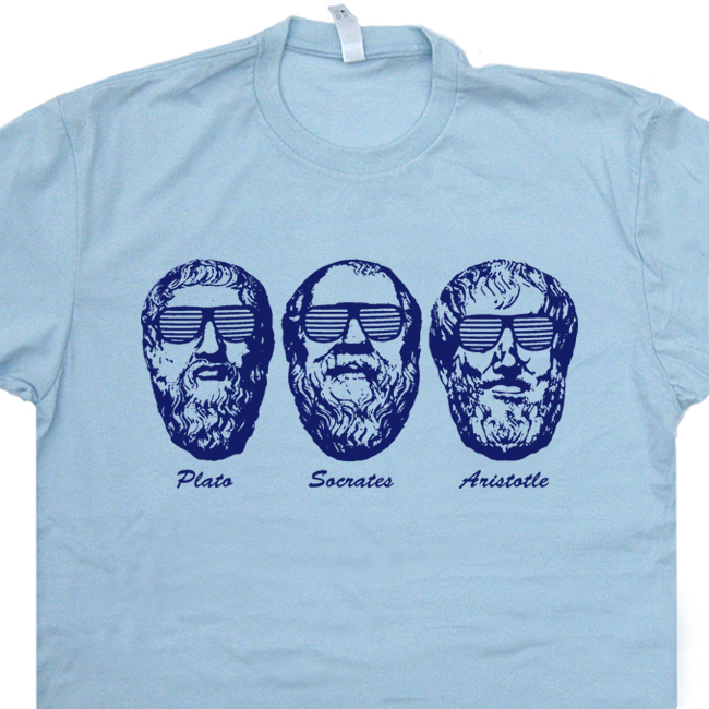 901ab36a Socrates T Shirt Aristotle T Shirt Plato Shirt Greek Philosophy T Shirt