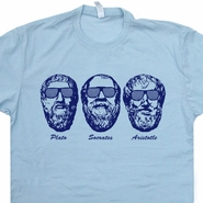 Socrates T Shirt Aristotle T Shirt Plato Shirt Greek Philosophy T Shirt