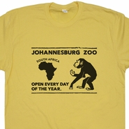 South Africa Zoo T Shirt Monkey Shirt Vintage Circus T Shirt Gorilla Graphic