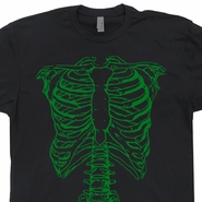 Spinal Tap T Shirt Green Skeleton T Shirt Donnie Darko Shirt Movie Shirts