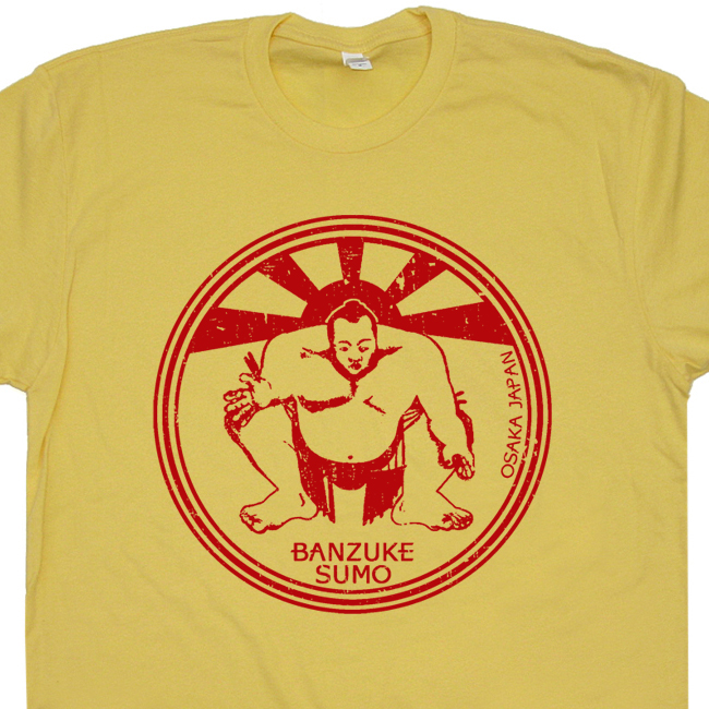 Sumo wrestling t shirt paper street soap company shirt for Asheville t shirt company