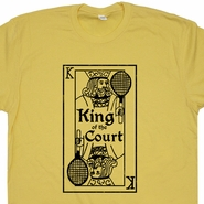 Vintage Tennis T shirt King Of The Tennis Court Shirt Vintage Sports Shirt