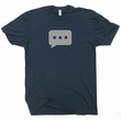 Text Message Bubble T Shirt Texting Shirt Social Media Tee