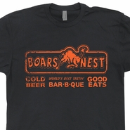 The Boars Nest T Shirt Dukes of Hazzard Shirt Bar Pub Shirts Cool 80s Tees